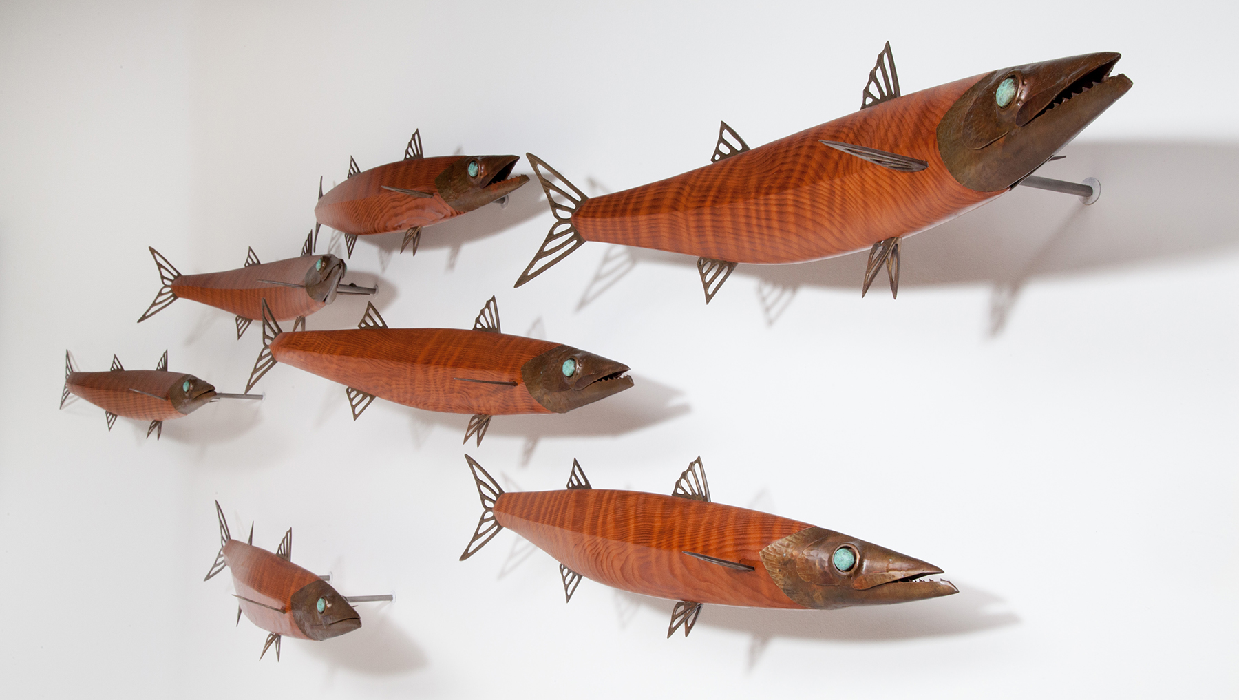 fish wall sculpture