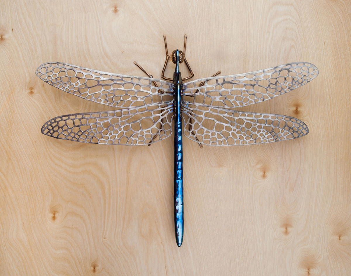 metal dragonfly art for sale