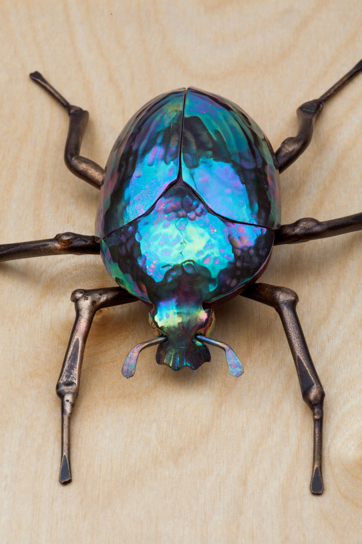 beetle sculpture