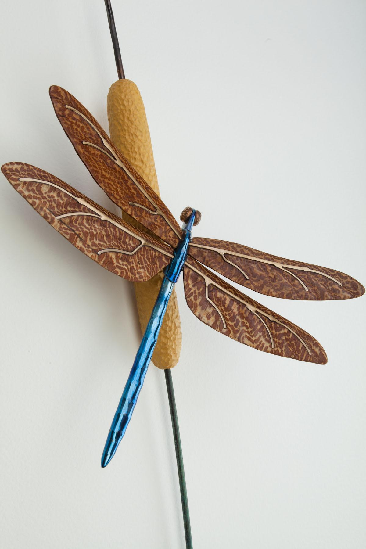 dragonfly wall sculpture